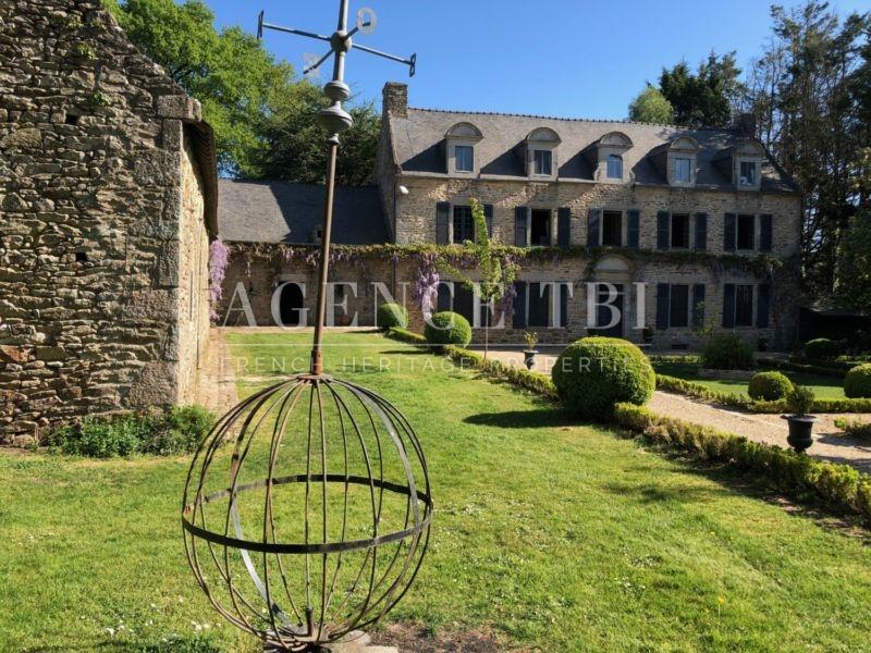 881 TBI Manoir proche Vannes, Manoir XVIII, Manoir XV, Jardin à la Française, Golfe du Morbihan, Manoir proche mer, Tout en pierres